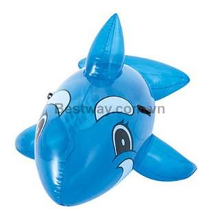 Phao bơi cá voi xanh Bestway 41036