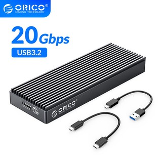 Vỏ ổ cứng ORICO M2PAC3-G20 USB3.2 20Gbps M.2 NVMe SSD