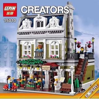 (Mã giảm giá 15k VANCY) Bộ xếp hình Lego CREATORS 15010 Nhà hàng Paris -Parisian Restaurant (Có sẵn)