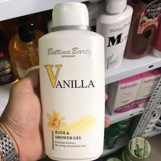 [FREE SHIP] Sữa tắm nước hoa Bettina Barty Vanilla 500ml