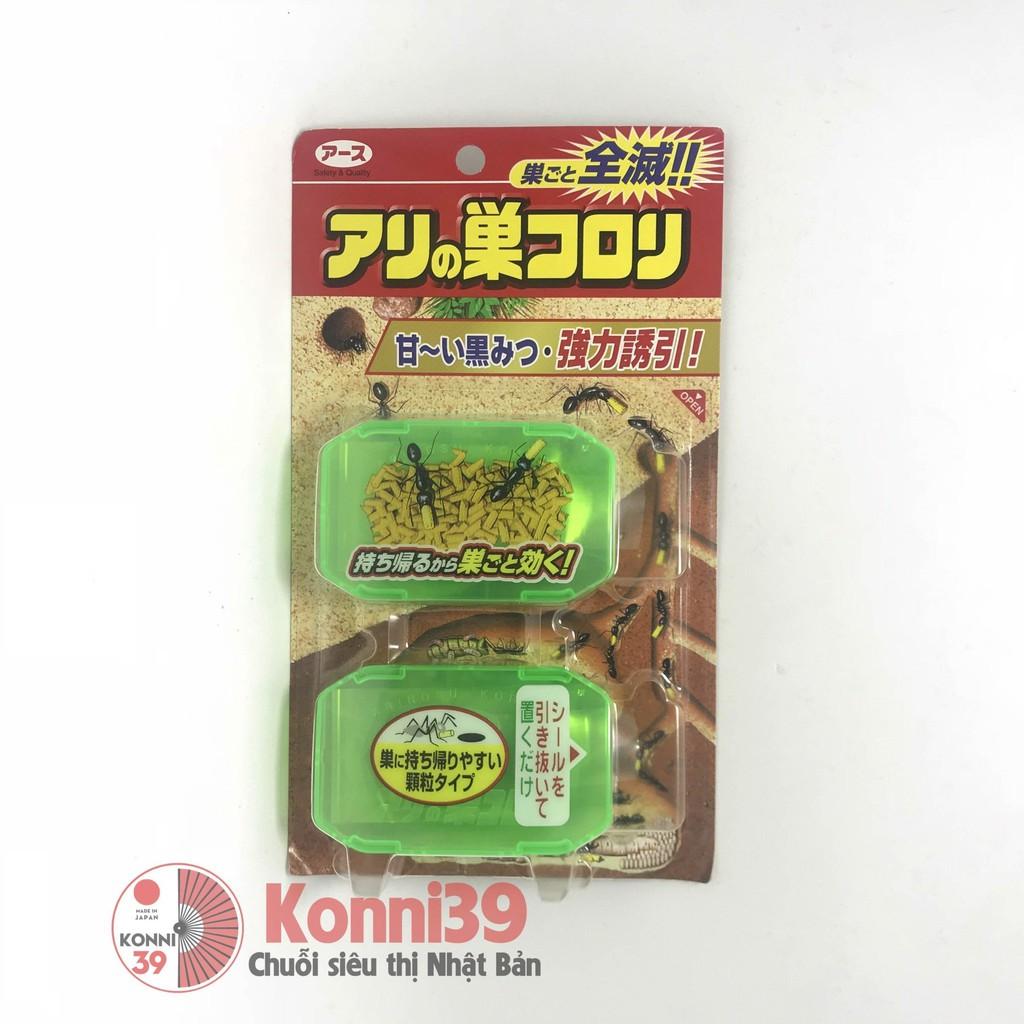 Thuốc Diệt Kiến Nhật Bản Earth Chemical ( 2 hộp/set) - Hàng Nội Địa Nhật, tiêu diệt kiến một cách nhanh chóng, an toàn