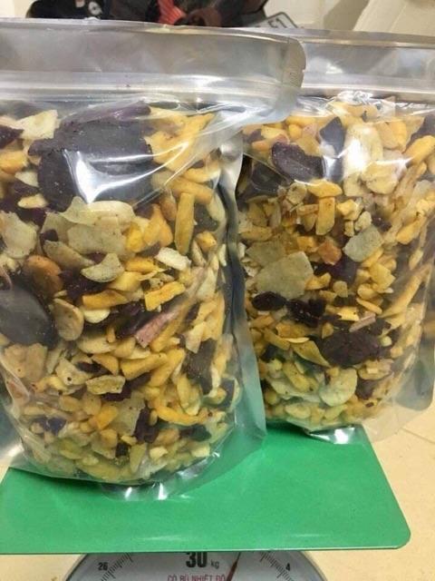 Combo 2kg thập cẩm sấy (Trái Cây Sấy hàng vụn)