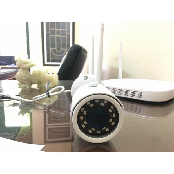 Bộ Camera IP kết hợp Wifi SYFUJ NVR KIT SF-NVR04KW1004 HD 720P