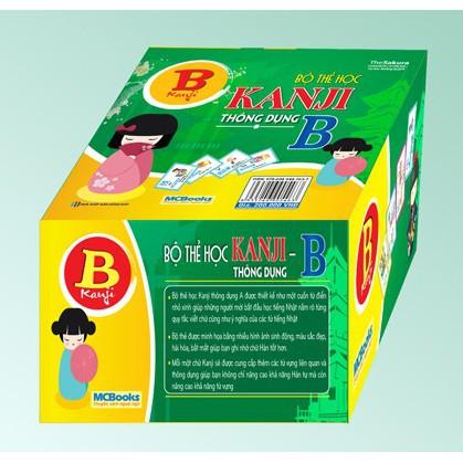Bộ Thẻ Học Kanji Thông Dụng B - 2908805 , 324234322 , 322_324234322 , 200000 , Bo-The-Hoc-Kanji-Thong-Dung-B-322_324234322 , shopee.vn , Bộ Thẻ Học Kanji Thông Dụng B