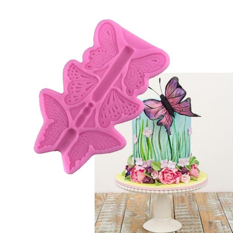 Khuôn silicon làm kẹo đường hình bươm bướm - 14507309 , 1818115900 , 322_1818115900 , 40450 , Khuon-silicon-lam-keo-duong-hinh-buom-buom-322_1818115900 , shopee.vn , Khuôn silicon làm kẹo đường hình bươm bướm