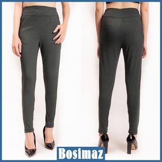 Quần Legging Nữ Bosimaz MS118 dài túi trước màu xám xanh cao cấp, thun co giãn 4 chiều, vải đẹp dày, thoáng mát. thumbnail