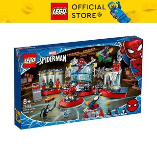 LEGO SUPERHEROES 76175 Đột Kích Hang Ổ Người Nhện ( 466 Chi tiết)