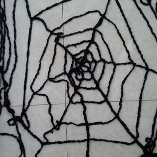 mạng nhện trang trí halloween 6 vòng