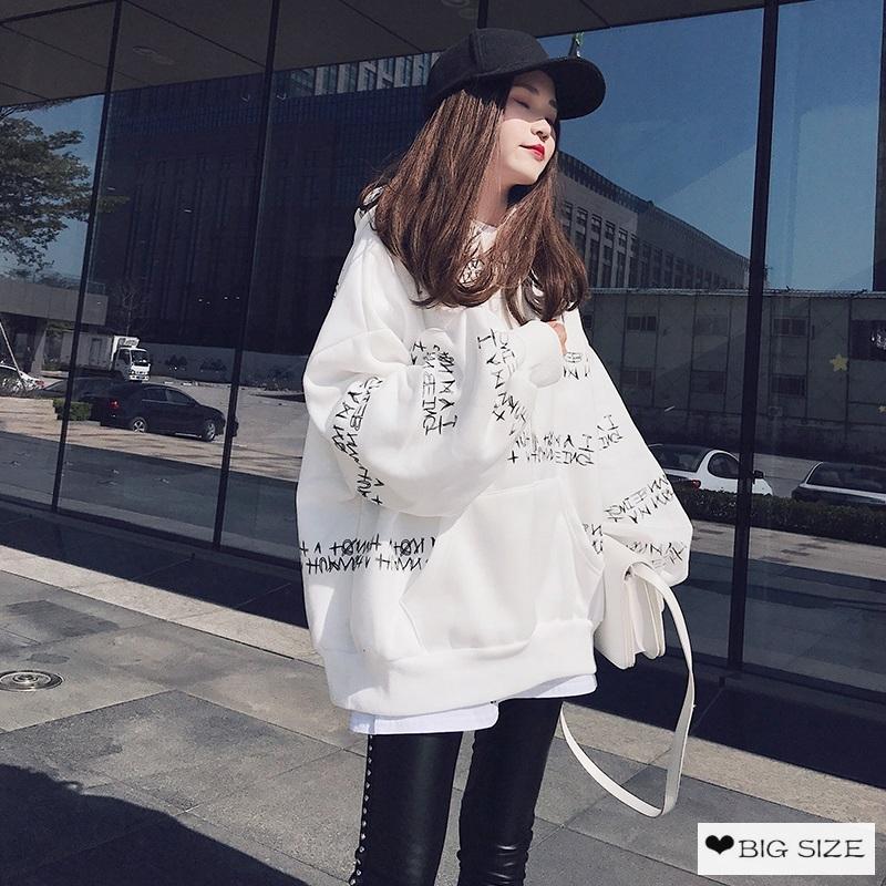 [Mã FASHIONCB82 hoàn tối đa 30K xu đơn 50K] Áo hoodie Hàn Quốc dáng rộng hợp thời trang