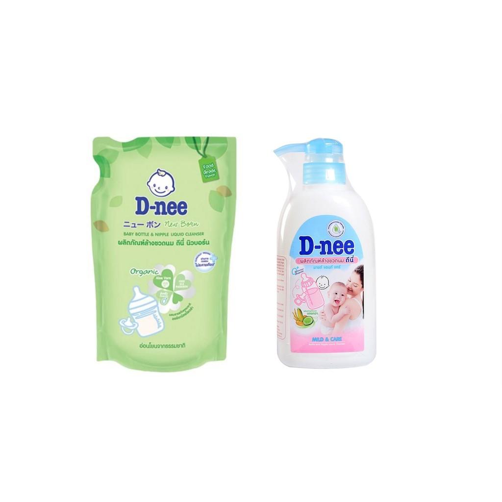 [Mã MKBCSALE13 giảm 50k đơn 250k] Nước rửa bình sữa Dnee (Chính hãng có tem Công ty Đại Thịnh)