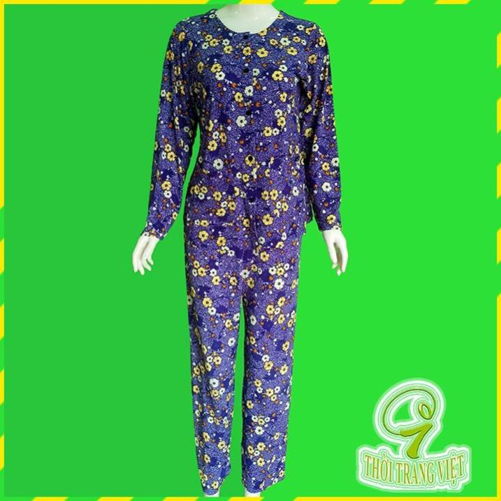 đồ bộ thun nữ quần dài trung niên lớn tuổi, áo 2 túi cổ tròn tay dài - màu xanh dương đậm - 21834469 , 7007044731 , 322_7007044731 , 130000 , do-bo-thun-nu-quan-dai-trung-nien-lon-tuoi-ao-2-tui-co-tron-tay-dai-mau-xanh-duong-dam-322_7007044731 , shopee.vn , đồ bộ thun nữ quần dài trung niên lớn tuổi, áo 2 túi cổ tròn tay dài - màu xanh dươn