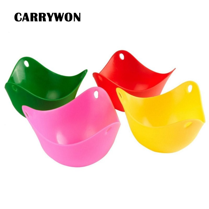 4pcs/lot Silicone Egg Cook Mold Bowl Shape Silicone Pancake  Cooking Gadgets
