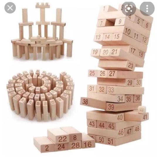 đồ chơi rút gỗ có 3 loại (48 ,51,54)miếng