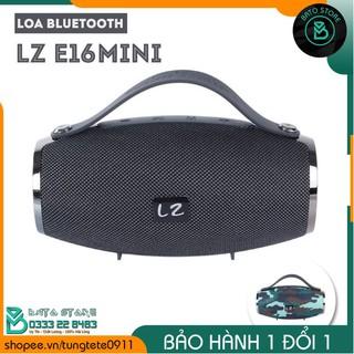 Loa Bluetooth Di Động LZ-E16MINI Âm Thanh Sống Động, Bass Cực Mạnh, Cắm USB, Thẻ Nhớ, Cổng 3.5 - Kèm cáp sạc