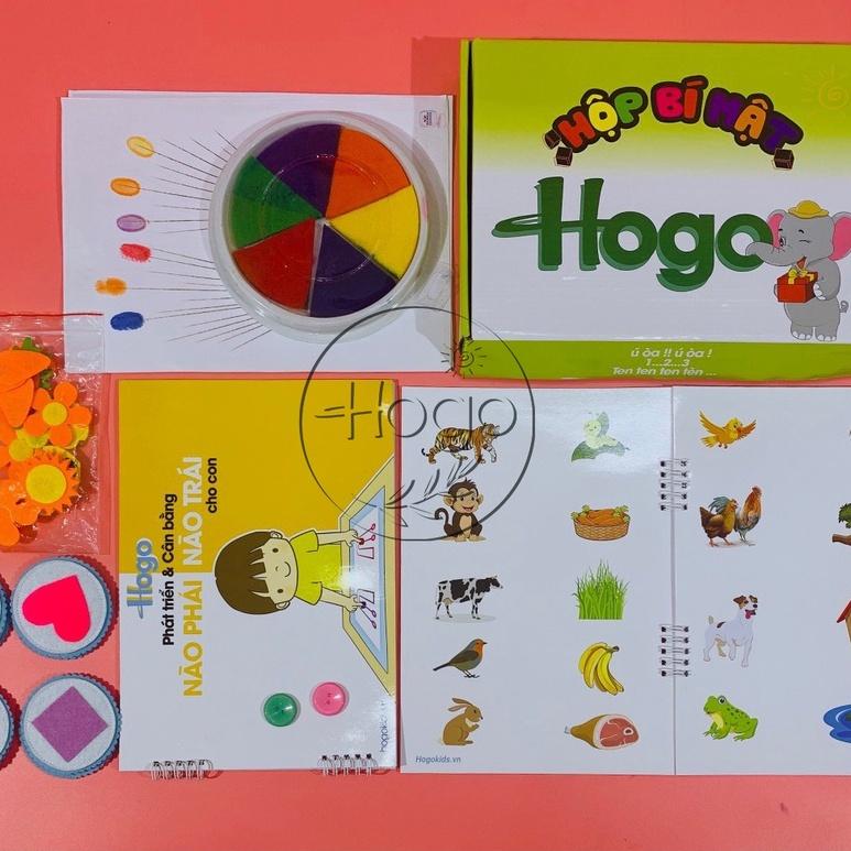 Hộp đồ chơi bí mật HOGO kích thích giác quan tò mò trí thông mình tư duy của con từ 2,5 – 4,5 tuổi