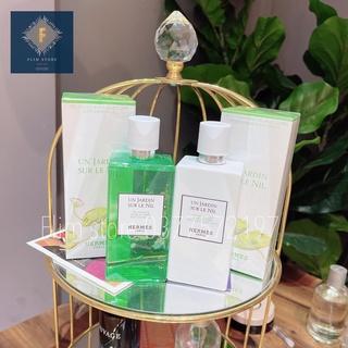 Sữa tắm dưỡng thể Nước Hoa Hermes Un Jardin Sur Le Nil 200ml mềm mịn da dưỡng ẩm da nhẹ nhàng, sang trọng thumbnail