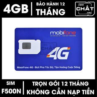 [CHỈ BÁN HÀ NỘI] SIM 4G Mobifone MDT250A – F500N tặng 48GB tốc độ cao trọn gói 1 năm không nạp tiền