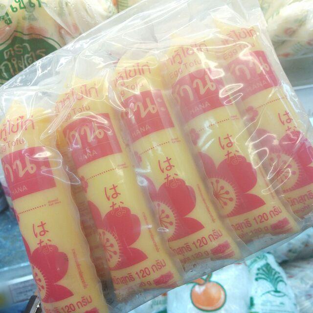 เต้าหู้ไข่ไก่ 120 g. Hana ฮานะ (จัดส่งเริ่ม20) เต้าหู้
