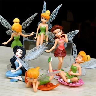 Bộ 06 Mô hình tiên Tinker Bell dễ thương