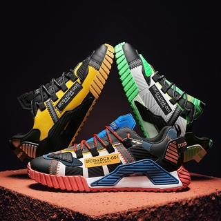 Giày cổ điển của nam Thường xuyên thoải mái Nền tảng thể thao Màu sắc phù hợp với giày chạy bộ