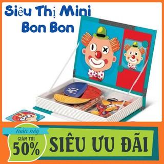 [Bản Mới Nhất] Sách Ghép Hình Nam Châm Cho Bé Magnetic Book