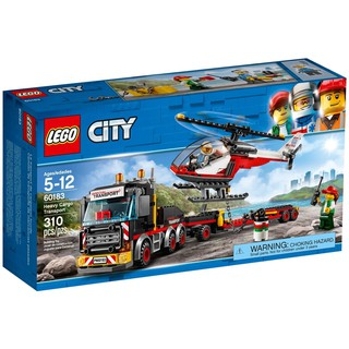 LEGO City 60183 – Xe Vận chuyển Trực Thăng (LEGO City 60183 Heavy Cargo Transport)