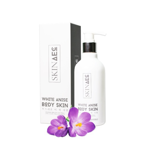 SỮA TẮM KÍCH TRẮNG SKIN AEC - WHITE ANISE BODY SKIN