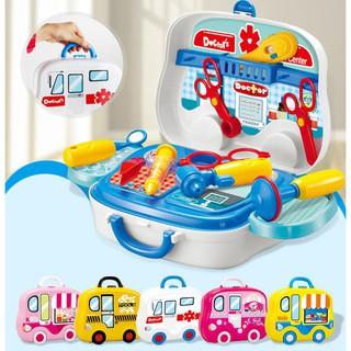 Đồ Chơi Cho Bé 3 Tuổi Bộ đồ chơi bác sĩ (nhựa)