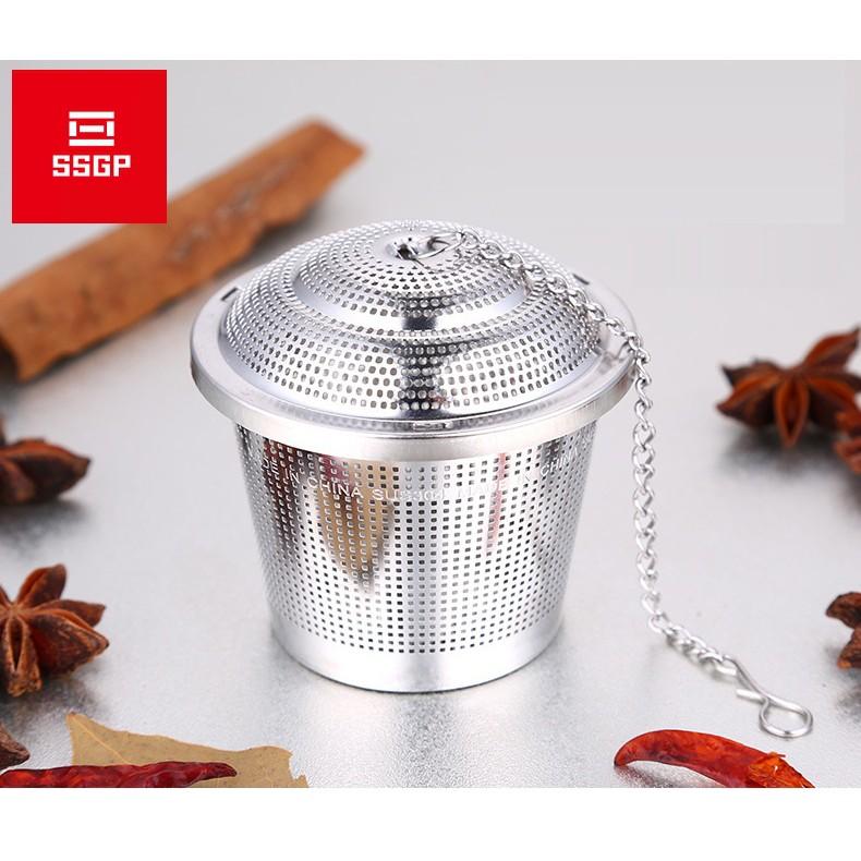 Dụng cụ lọc trà thả ấm inox 304 - SSGP