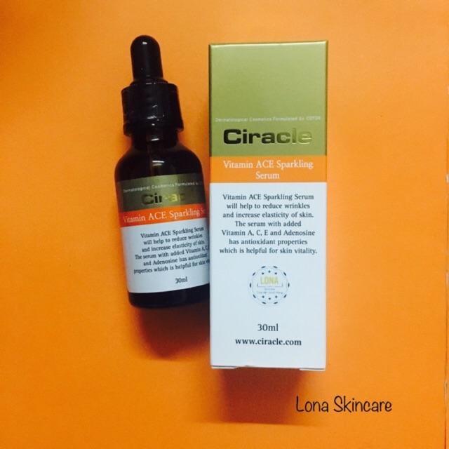 Ciracle Vitamin ACE cải thiện nếp nhăn, tăng khả năng đàn hồi cho da