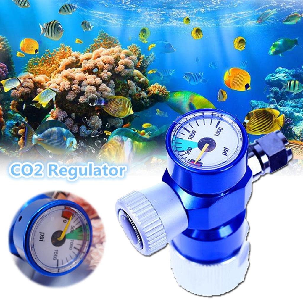 COD 1500 PSI CO2 Omnibus Adjustable Regulator Aquarium Fish Tank