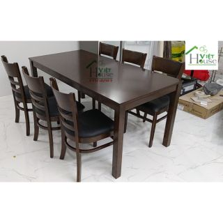 Bộ bàn ăn Cabin 6 ghế giá rẻ (Freeship nt HCM, Dĩ An, Biên Hoà)