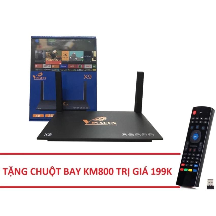 Android tivi box Vinabox X9 Ram 2G tặng chuột bay KM800 trị giá 199k - 2555076 , 780663253 , 322_780663253 , 1099000 , Android-tivi-box-Vinabox-X9-Ram-2G-tang-chuot-bay-KM800-tri-gia-199k-322_780663253 , shopee.vn , Android tivi box Vinabox X9 Ram 2G tặng chuột bay KM800 trị giá 199k
