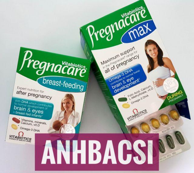 Vitamin tổng hợp Pregnacare cho phụ nữ mang thai và cho con bú
