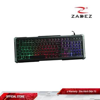 [Mã ELFLASH5 giảm 20K đơn 50K] Bàn phím Văn Phòng LED Zadez G-851K