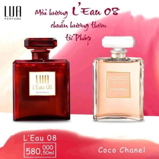 Nước hoa nữ Lua L'Eau 08 - 50ml