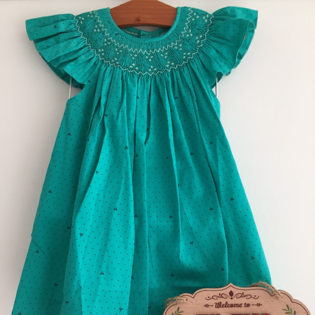 Đầm smock cho bé 1-7t