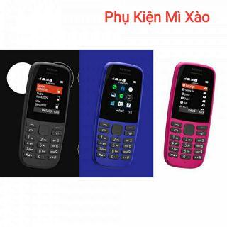 Điện Thoại Nokia 105 -2 Sim (2019) – Hàng Chính Hãng