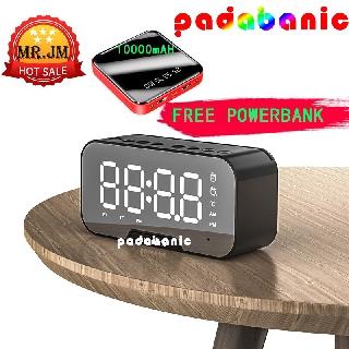 Loa Bluetooth MP3  Đa Năng Kiêm Đồng Hồ Báo Thức Nghe Đài FM Pin 1400mAh Nghe Nhạc ~8 Tiếng Bảo Hành 1 Năm