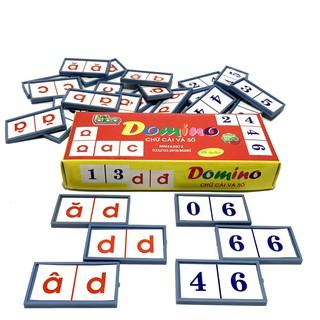 Bộ Đồ Chơi Domino Cho Bé Học Chữ Cái Và Số Bibo thumbnail