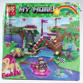 Đồ Chơi Trẻ Em Lắp ghép My World 33084 KB801 [ĐỒ CHƠI TRÍ TUỆ]