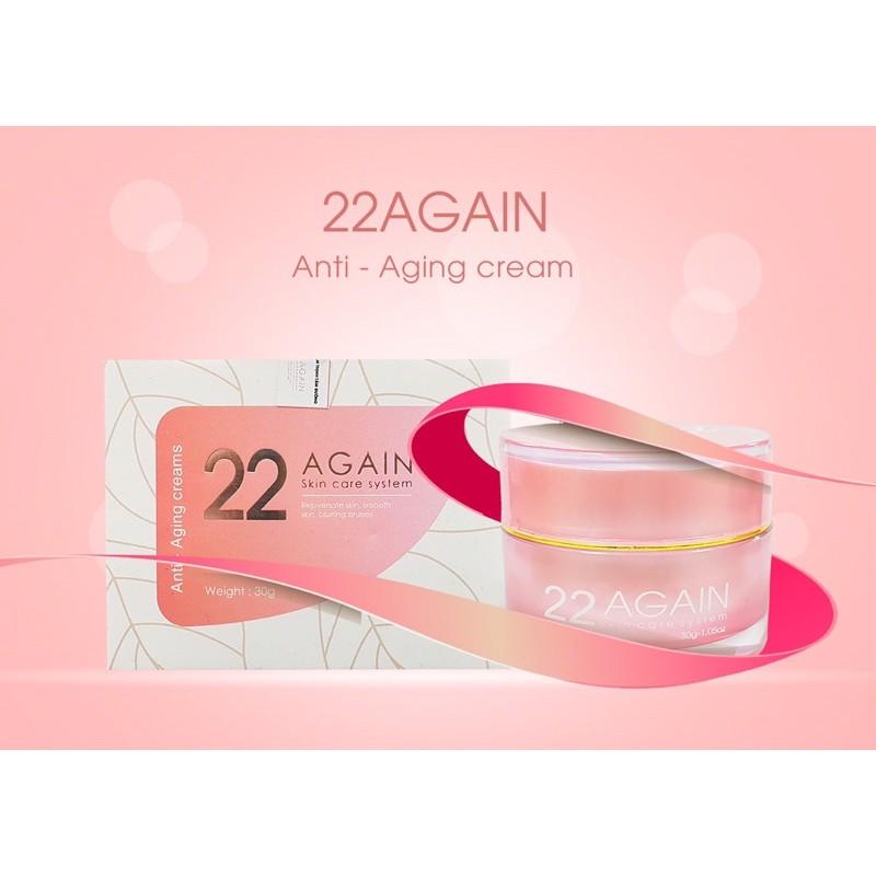 Kem 22 Again chính hãng- Dưỡng da và chống lão hoá da