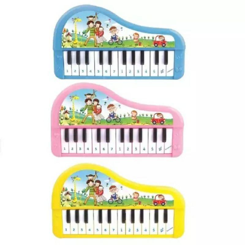 Đàn piano đồ chơi mô hình có nhạc