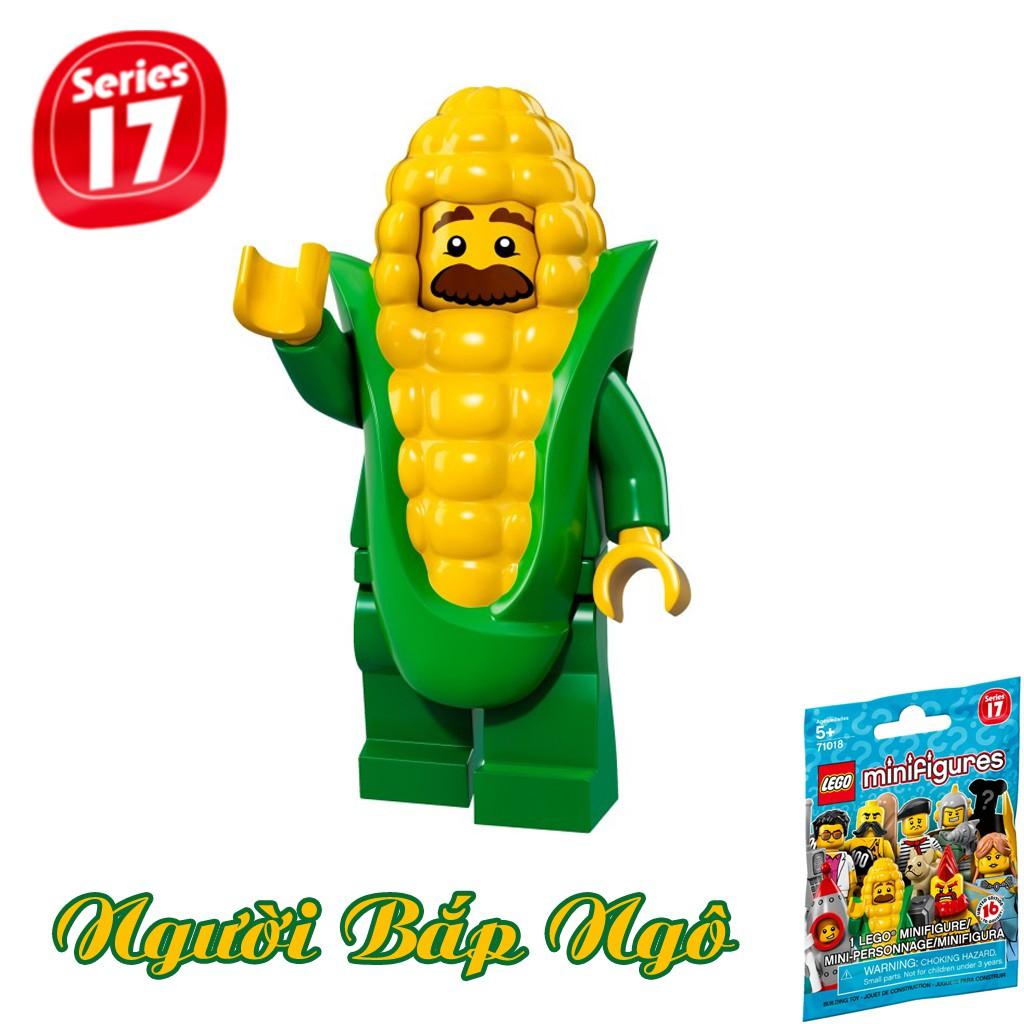 LEGO Minifigures Người Bắp Ngô Corn Cob Guy 71018 Series 17