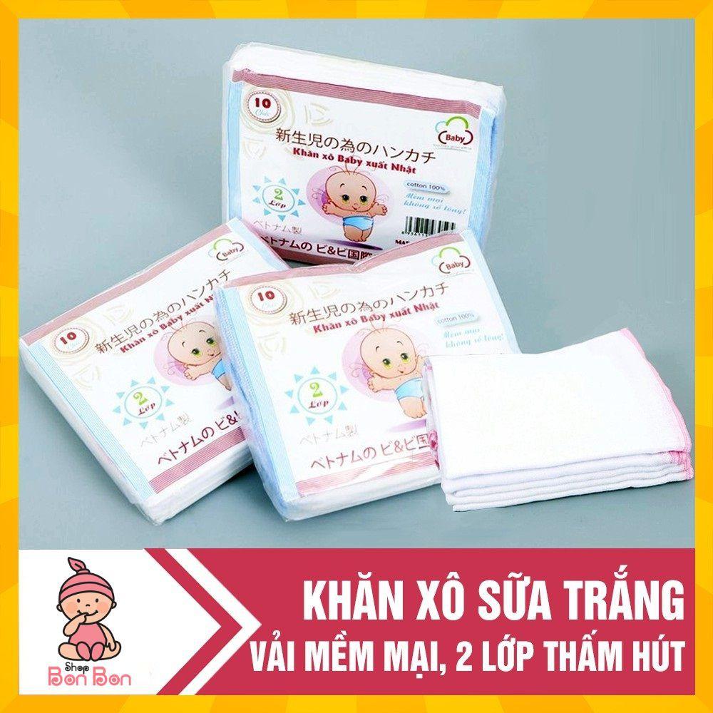Combo 5 gói khăn sữa xô trắng Loại 2/4 lớp xuất Nhật cao cấp( gói 10 chiếc) - 21815609 , 3503308714 , 322_3503308714 , 129000 , Combo-5-goi-khan-sua-xo-trang-Loai-2-4-lop-xuat-Nhat-cao-cap-goi-10-chiec-322_3503308714 , shopee.vn , Combo 5 gói khăn sữa xô trắng Loại 2/4 lớp xuất Nhật cao cấp( gói 10 chiếc)