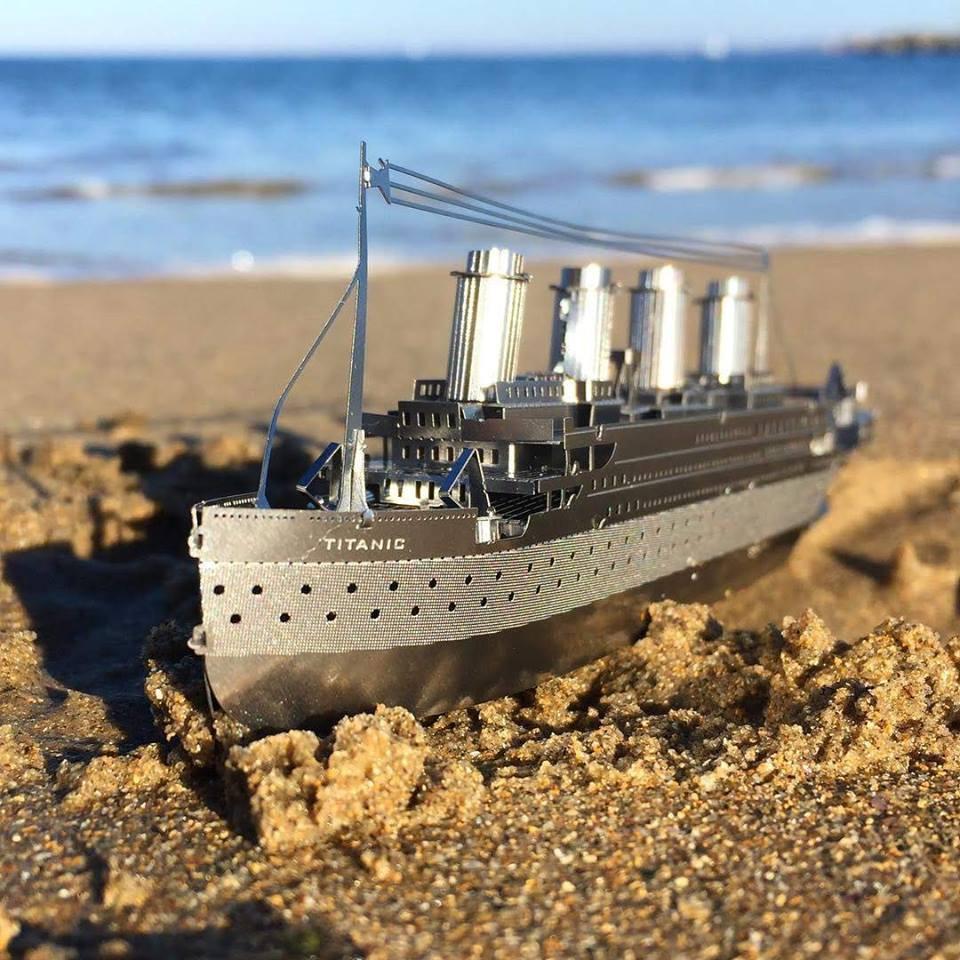 Mô hình 3D kim loại lắp ráp Tàu Titanic [ Chưa lắp ] – Con tàu chở khách nổi tiếng nhất trong lịch sử hàng hải