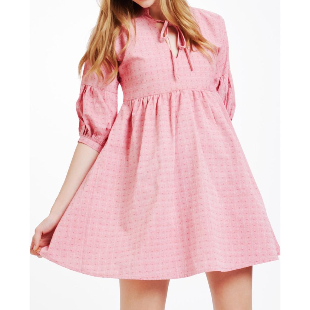 1407486845 - Áo đầm nữ The cosmo Callie dress màu đỏ họa tiết TC2005188RE