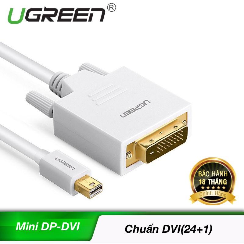 Cáp chuyển đổi mini DisplayPort sang DVI dài 2m MD102 10405 (màu trắng) - 9948985 , 210391428 , 322_210391428 , 369000 , Cap-chuyen-doi-mini-DisplayPort-sang-DVI-dai-2m-MD102-10405-mau-trang-322_210391428 , shopee.vn , Cáp chuyển đổi mini DisplayPort sang DVI dài 2m MD102 10405 (màu trắng)