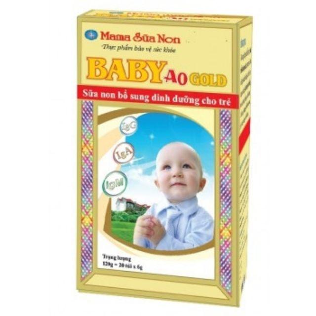 CHÍNH HÃNG Mama sữa non gold baby cho bé từ sơ sinh 6g×20 gói - 2594763 , 1039011872 , 322_1039011872 , 145000 , CHINH-HANG-Mama-sua-non-gold-baby-cho-be-tu-so-sinh-6g20-goi-322_1039011872 , shopee.vn , CHÍNH HÃNG Mama sữa non gold baby cho bé từ sơ sinh 6g×20 gói