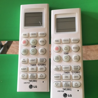 Điều khiển điều hoà LG – remote máy lạnh LG